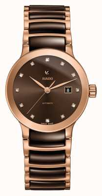 Rado Centrix Automatik Diamanten Keramik Armbanduhr R30183752