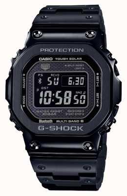 Casio | g-shock vollmetall | zäh solar | digitales zifferblatt | schwarz GMW-B5000GD-1ER