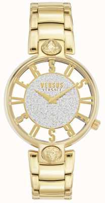 Versus Versace | Frauenkirstenhof | vergoldetes Armband | Glitzer-Zifferblatt VSP491419