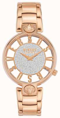 Versus Versace | Frauenkirstenhof | Roségold-Armband | Glitzerzifferblatt | VSP491519