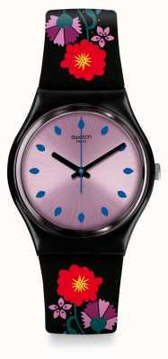 Swatch | ursprünglicher gent | coquelicotte uhr | GB319