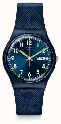 Swatch | ursprünglicher gent | sir blaue uhr | GN718