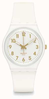 Swatch | ursprünglicher gent | weiße Bischofsuhr | GW164