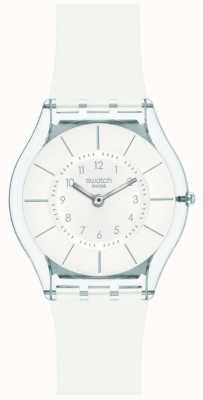 Swatch | Haut Klassiker | weiße nobeluhr | SFK360