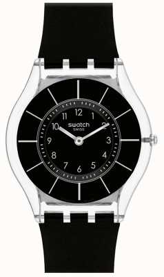 Swatch | Haut Klassiker | schwarze nobeluhr | SFK361
