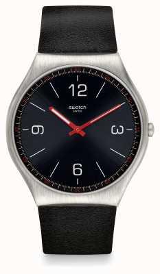 Swatch | haut ironie 42 | hautschwarze Uhr | SS07S100