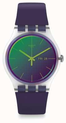 Swatch | neuer gent | polapurple Uhr | SUOK712