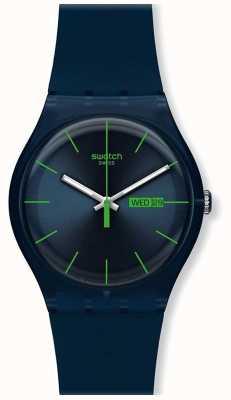 Swatch | neuer gent | blaue Rebellenuhr | SUON700