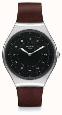Swatch | Haut Ironie | hautgebürstete Uhr | SYXS102