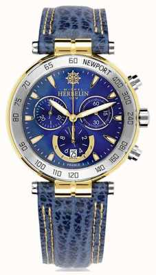 Michel Herbelin | herren | newport originals | Chronograph 37654/T35