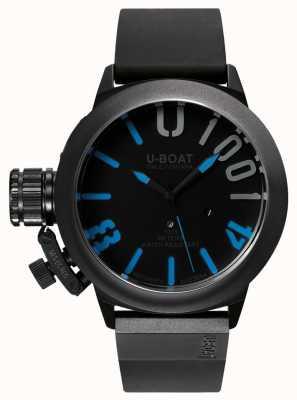 U-Boat Classico 47 1001 ipb blaues Kautschukband 7541