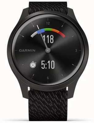 Garmin Vivomove-Stil | Graphit Aluminiumgehäuse | schwarzer Gurt 010-02240-03