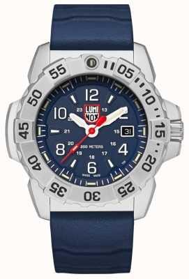 Luminox | Navy Seal Steel 3250 Serie | blaues Kautschukband | blaues Zifferblatt XS.3253