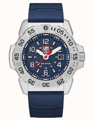 Luminox | navy seal stahl 3250 serie | blaues Kautschukband | blaues Zifferblatt XS.3253
