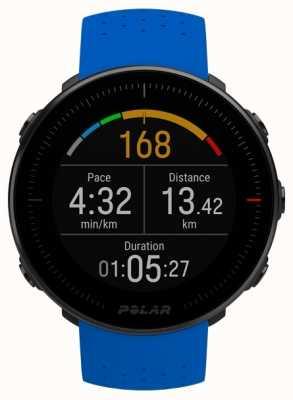 Polar | aussicht m | Herzfrequenzmesser | blaues Kautschukband 90080197