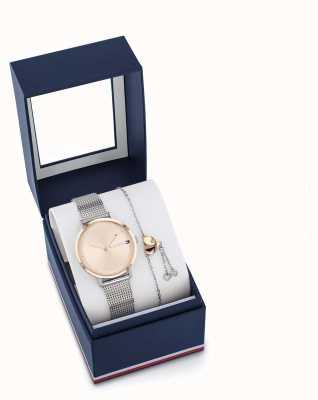 Tommy Hilfiger Damen Pippa Uhr und Armband Geschenkset 2770053