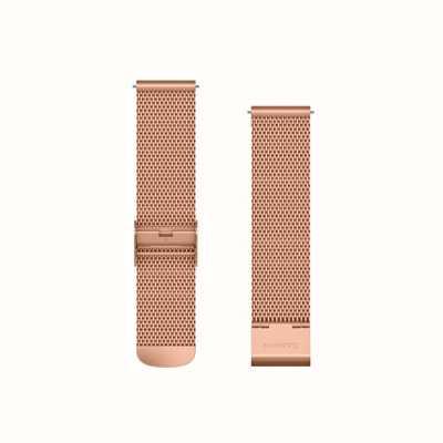Garmin Schnellverschluss-Band, roségoldfarbene Mailänder-Band mit 18 Karat Roségold 010-12924-24