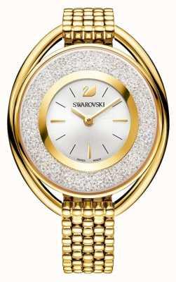 Swarovski Kristallin | oval | goldenes pvd armband | silbernes Zifferblatt 5200339