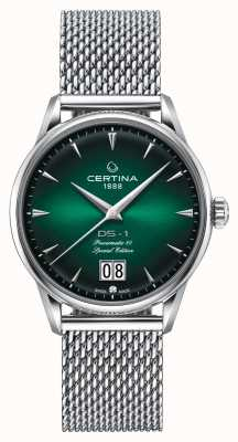 Certina Ds-1 Special Edition Großdatum | powermatic 80 | Silbergeflecht C0294261109160