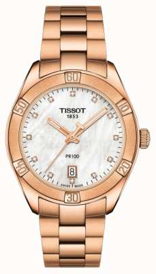 Tissot | pr 100 sport chic | Roségold Armband | Ex-Display-Modell T1019103311600EX-DISPLAY