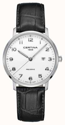 Certina | ds caimano | Alligator Lederband | weißes Zifferblatt | C0354101601200