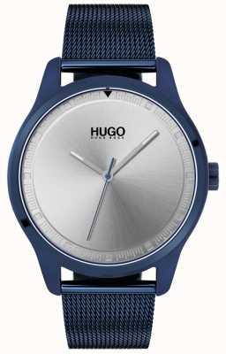 HUGO #move | blaues ip mesh armband | blaues Zifferblatt | 1530045