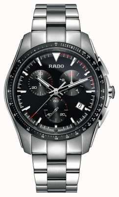 Rado Xxl hyperchrome Chronograph Edelstahl schwarzes Zifferblatt R32259153