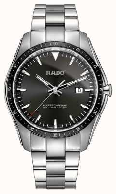 RADO Xxl hyperchrome schwarze Zifferblattuhr aus Edelstahl R32502153