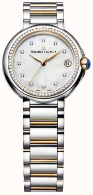Maurice Lacroix Fiaba Damen Diamant Set zweifarbig Perlmutt FA1004-PVP23-170-1