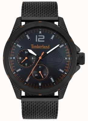 Timberland | Herrentaunton | schwarzes mesh armband | schwarzes Zifferblatt | 15944JYB/02MM