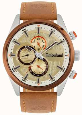 Timberland | herrenkammblick | braunes Lederband | Mineral Zifferblatt | 15953JSTBN/04