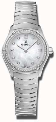 EBEL | Frauensport Klassiker | Edelstahl | diamantbesetztes Zifferblatt 1216475A