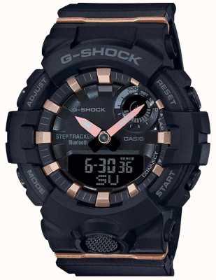 Casio | g-shock g-squad | schwarzes Kautschukband | Bluetooth Smart | GMA-B800-1AER