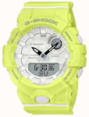 Casio G-Schock G-Trupp | gelbes Kautschukband | Bluetooth Smart | GMA-B800-9AER