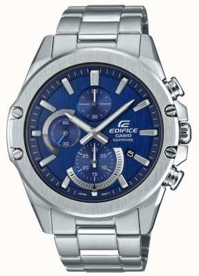 Casio Edifice Neo Display Chronograph | Armband aus Edelstahl EFR-S567D-2AVUEF