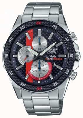 Casio Edifice limitierte Auflage Scuderia Toro Rosso Carbon Saphir EFR-S567TR-2AER