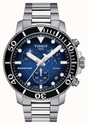 Tissot Herren Seastar 30 Bar 1000 Chronograph T1204171104101