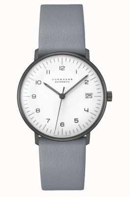 Junghans Max Rechnung automatisch | 38mm schwarz & weiß 027/4007.04