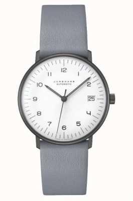 Junghans Max Rechnung automatisch | 34mm schwarz & weiß 027/4006.04