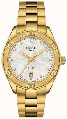 Tissot Frauen-PR 100 | sport chic chronograph | Perlmutt T1019173311601