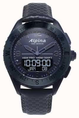Alpinarx | Weltraumausgabe | Smartwatch | blaues Lederband AL-283SEN5NAQ6