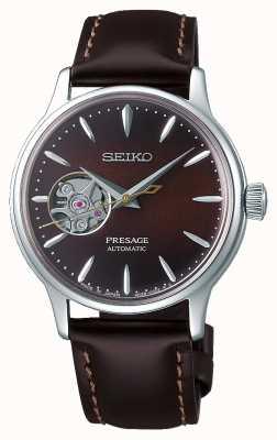 Seiko | Presage Ladies Mechanical | braunes Kalbsleder | braunes Zifferblatt SSA783J1
