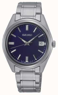 Seiko Konzeptionelle Herren Quarz Edelstahl, blaues Zifferblatt SUR317P1