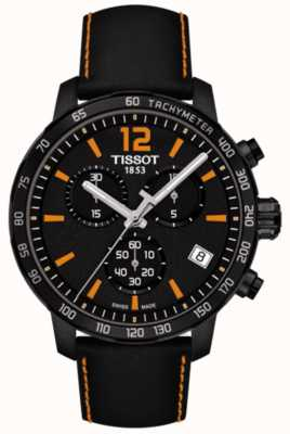 Tissot T-Sport Quickster Chronograph schwarz & orange T0954173605700