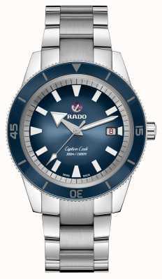 Rado Xl 'Captain Cook' automatisch blau R32105203