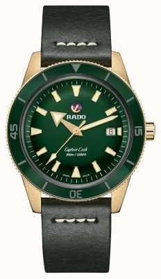 Rado Xl 'Captain Cook' automatische Bronze R32504315