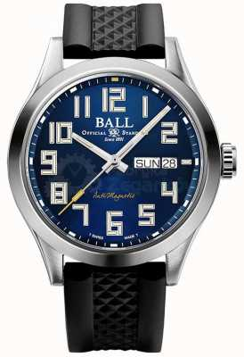 Ball Watch Company Ingenieur iii Sternenlicht | schwarzes Kautschukband | blaues Zifferblatt | NM2182C-P12-BE1