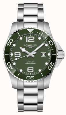 Longines Hydroconquest 43mm | grünes Zifferblatt | rostfreier Stahl L37824066