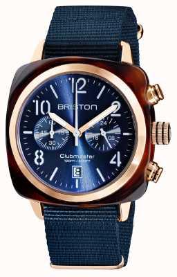 Briston Clubmaster classic | Chronograph | 19140.PRA.T.33.NMB