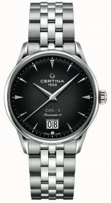 Certina Ds-1 großes Datum | powermatic 80 | Edelstahlarmband C0294261105100